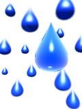 kroplę wody Obrazy Stock