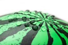 kroplę wody Makro- Obrazy Stock