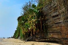 Kropla Dan parawanowy skalisty wybrzeże zmierzch łuna 02 Obraz Royalty Free