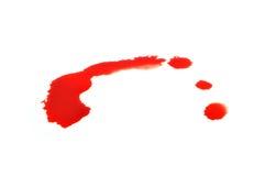 Kropla krew Obrazy Stock