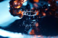 Kropla w cieczu Obraz Royalty Free
