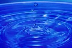 kropla wody zbliżona do Zdjęcie Royalty Free
