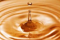 kropla zamrożona woda Fotografia Stock