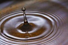 kropla zamrożona woda Zdjęcie Stock