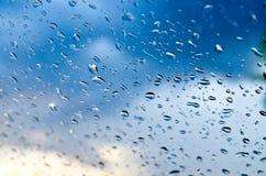 Krople deszcz Zdjęcie Royalty Free