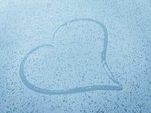 Krople deszcz w kierowym kształcie Obrazy Royalty Free