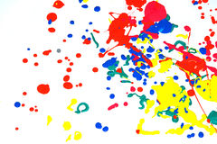 Krople farba Obraz Royalty Free