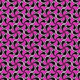 Krople różowią tło bezszwowego wzór ilustracja wektor