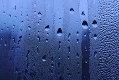 krople szklanek wody Obrazy Stock