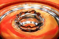 Krople woda Obraz Royalty Free