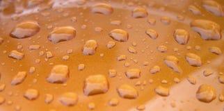 krople wody tekstury Fotografia Stock