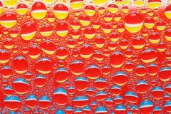 kropli woda Zdjęcie Royalty Free