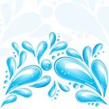 kropli woda Royalty Ilustracja
