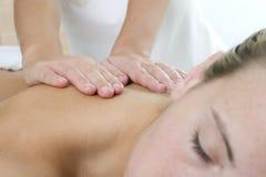 Kroppmassage Royaltyfria Foton