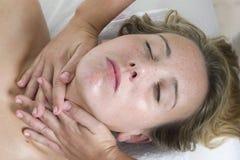 Kroppmassage Fotografering för Bildbyråer