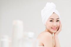 Kroppomsorg- och skönhetbegrepp royaltyfri fotografi