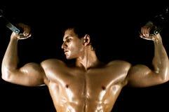 Kroppsbyggare Arkivbild