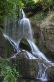 Kroshunski waterfall during the day Royalty Free Stock Photo