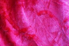 Krossad sammetbakgrund för rosa färger Royaltyfria Bilder