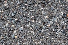 Krossad stenbakgrundstextur Arkivfoton