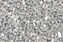 krossade gråa pebbles Arkivbilder