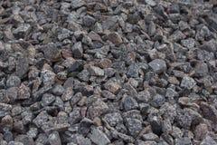 Krossade stenar Arkivbild