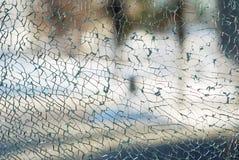 krossat exponeringsglas arkivbilder