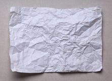 krossat papper royaltyfri fotografi