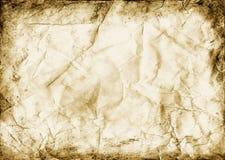 krossat papper arkivbilder