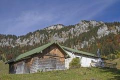Krottenalm im Brauneck-Bereich Lizenzfreies Stockfoto