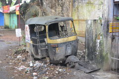 Krottenwijk in India stock foto's