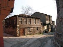 Krottenwijken in Istanboel Stock Afbeelding