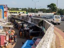 Krottenwijkgebied in Chennai, India royalty-vrije stock foto