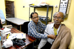Krottenwijkmensen van Kolkata Stock Foto's