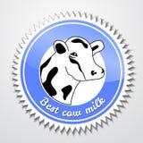 Krowa logo Obraz Stock