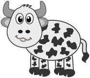 Krowa profil Obraz Royalty Free