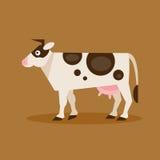 krowa również zwrócić corel ilustracji wektora Zdjęcie Stock