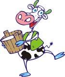 krowa szczęśliwa Royalty Ilustracja