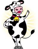 krowa szczęśliwa ilustracji