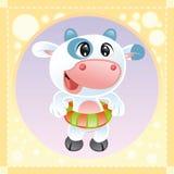 krowa trochę Fotografia Stock