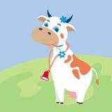 krowa zabawna Fotografia Stock