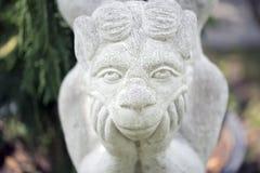 krowy flowerpot śmieszna ogrodowa statua Obraz Stock