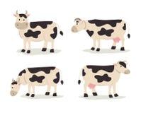Krowy ilustracja Obraz Stock