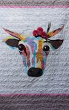 Krowy kołderka Zdjęcia Stock