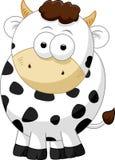 Krowy postać z kreskówki Fotografia Stock