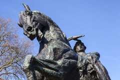 Körperliche Energie-Statue in Kensington-Gärten in London Stockfotos