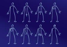 Körperteile Lizenzfreies Stockfoto