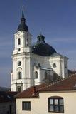 Krtiny - kerk royalty-vrije stock foto's