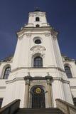 Krtiny - kerk stock afbeelding