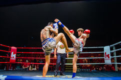 Krudam Fight #4 on Muaythai Day Stock Photo